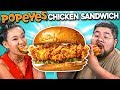 Adults React To NEW Popeyes Chicken Sandwich
