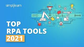 Top 5 RPA Tools 2021   Popular RPA Tools   Robotic Process Automation Tools   #Shorts   Simplilearn