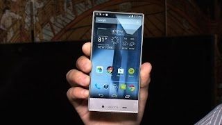 Sharp Aquos Crystal: A 5-inch smartphone with an edge-to-edge display
