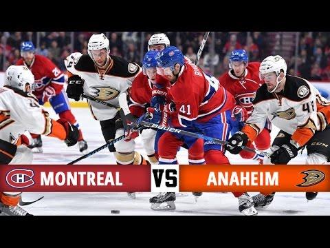 Montreal Canadiens vs Anaheim Ducks   Season Game 32   Highlights (20/12/16)