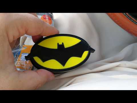 Opening Batman Justice League candy box in Dubai 08.02.2018