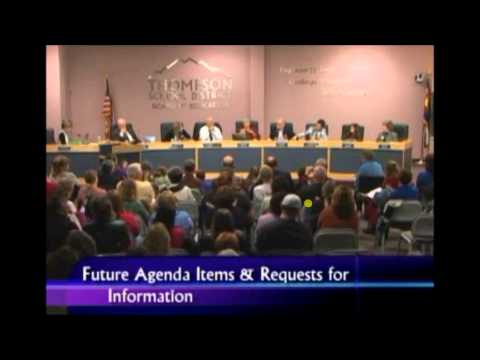 Mob attmpts to take control of school board meeting in Loveland, Colorado