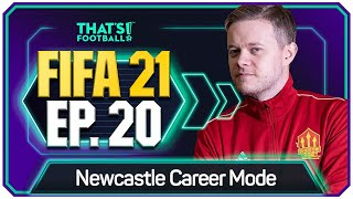 FIFA 21 NEWCASTLE UNITED CAREER MODE! GOLDBRIDGE! EPISODE 20