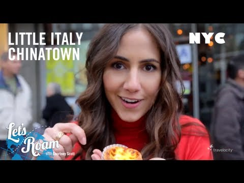 Little Italy and Chinatown | New York City | Let's Roam