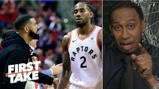 'I'm stunned, I thought it was over after Game 1' - Stephen A. on Bucks vs. Raptors | First Take