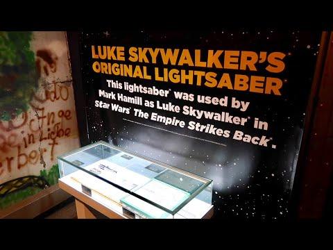 Luke's Lightsaber / Star Wars Exhibit at Ripley's Believe It Or Not