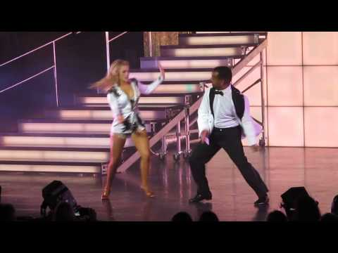 Alfonso Ribeiro amd Witney Carson Free Stye Dancing with the Stars Live Tour