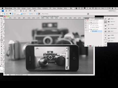 Convert TIFFs To JPEGs Using Photoshop Actions And Batches