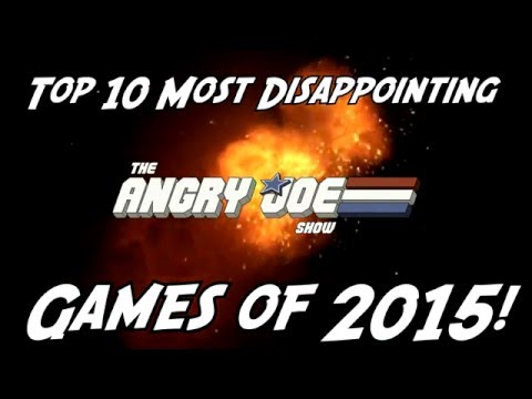 Top 10 Most Disappointing Games of 2015!