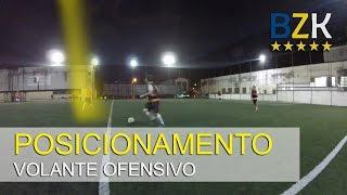 JOGO REAL - POSICIONAMENTO DO VOLANTE OFENSIVO (SOCIETY)