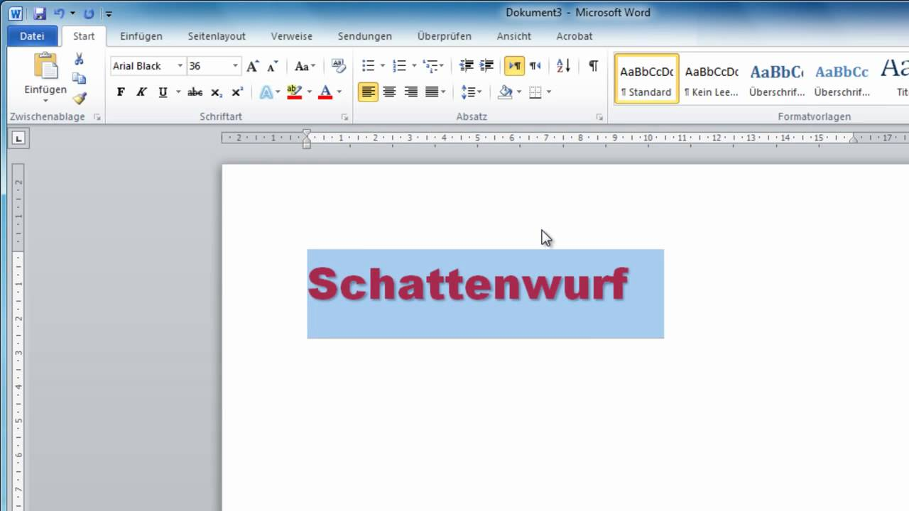 how to add in text referancing in word 2010