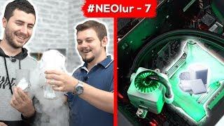 #NeOlur - 7 PUBG Oynarken İşlemciyi Isıtıp Üzerine Kuru Buz (Dry ICE) Koyarsak Ne Olur?