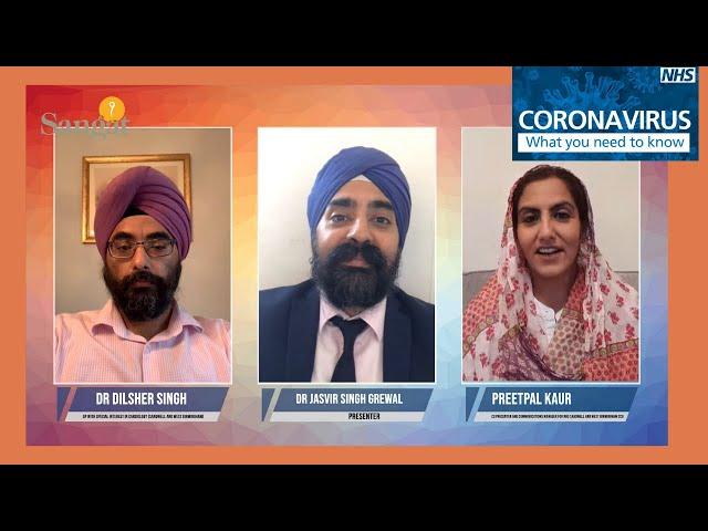 Coronavirus Update - Sangat Health Show - Dr Jasvir Singh Grewal - Dr Dilsher Singh - Preetpal Kaur