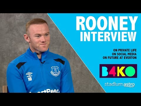 Rooney on private life, social media and Everton target    B4KO Exclusive   Astro SuperSport