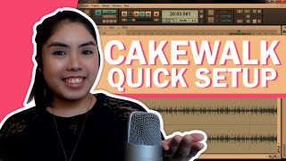 Cakewalk Sonar X1 LE - Quick Startup tutorial