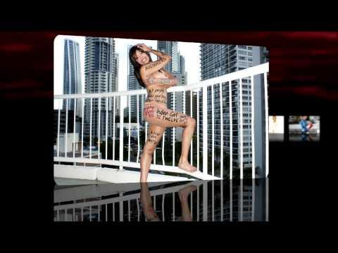 NUDE BODY ART by Indian Pop Star - Aiysha Saagar