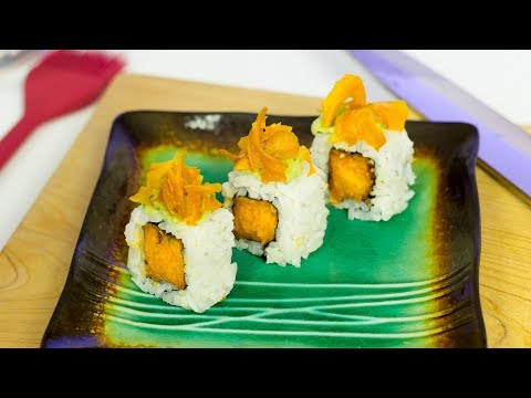 Sweet Potato Sushi Roll - Vegan Sushi Recipe