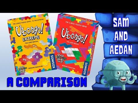 Ubongo! And Ubongo! Extreme Comparison With Sam & Aedan