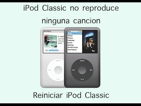 iPod Classic no reproduce ninguna canción salta todas las canciones en español HD 1080p