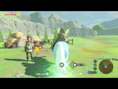 What Can You use the Lord of the Mountain for in Zelda Breath of the Wild?