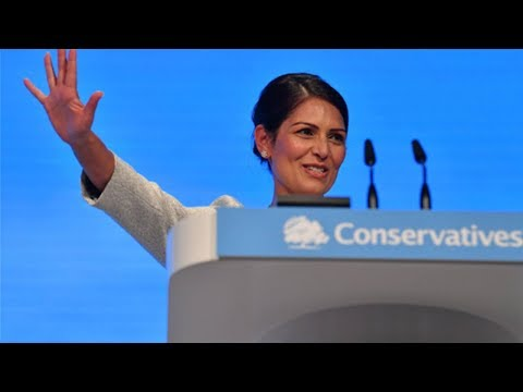 Priti Patel compares herself to Margaret Thatcher as she vows to back the police and tackle crime
