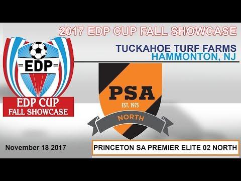 2017 EDP CUP FALL SHOWCASE -PSA PREMIER ELITE 02 NORTH vs. MARYLAND UNITED FC 2002 PREMIER