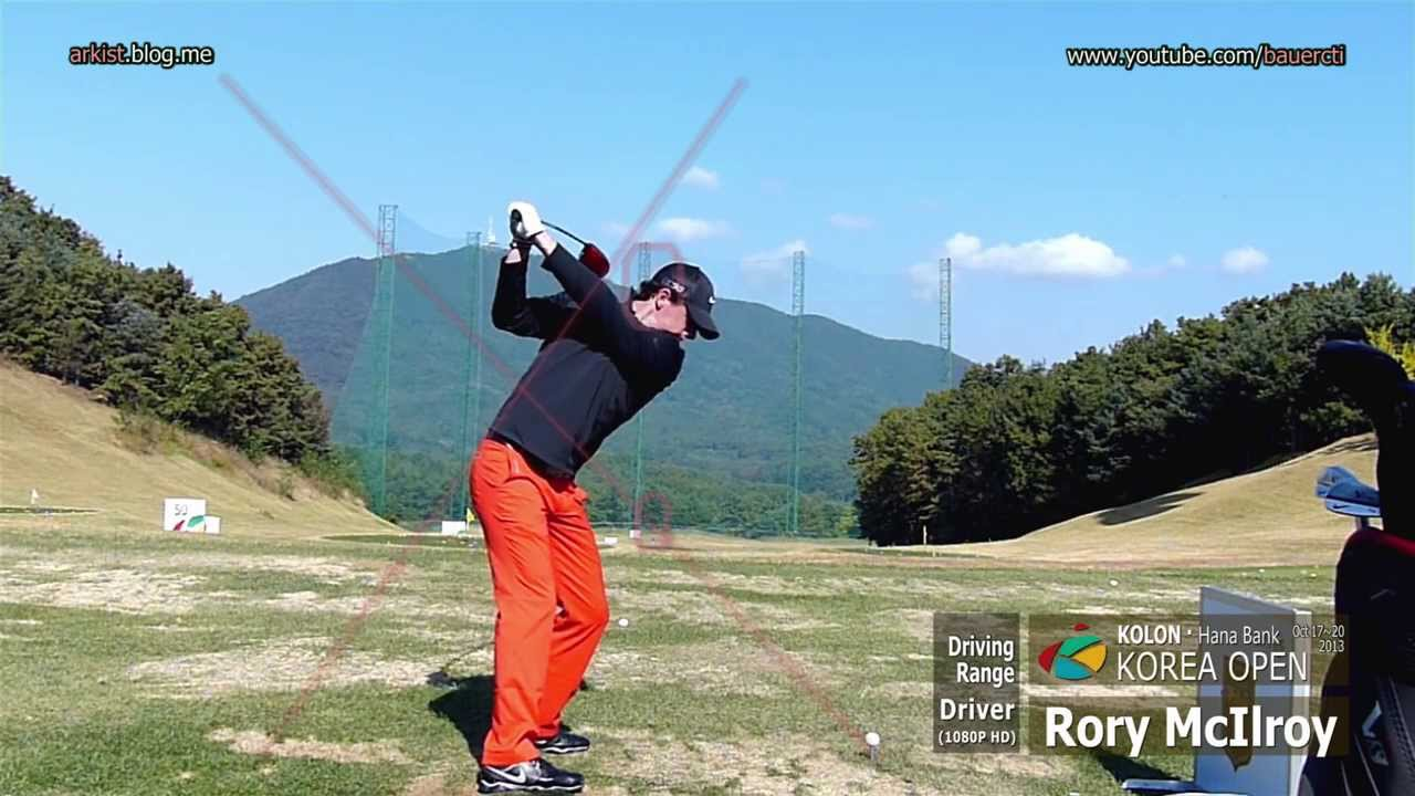 1080p Slow Rory Mcilroy 2013 Driver Golf Swing 2 On The Driving Range Youtube