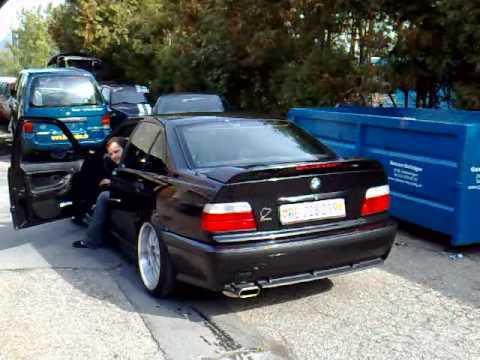 HARTGE Exhaust Muffler SOUND M E ACSchnitzer BMW - E36 ac schnitzer spoiler