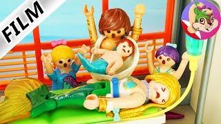 Playmobil Morskie Zamieszanie | Pani Ogonowska w szpitalu i pożegnanie dla rodziny z Aquacity