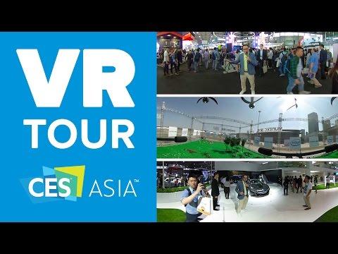 Digital Trends VR Tour - CES Asia 2016
