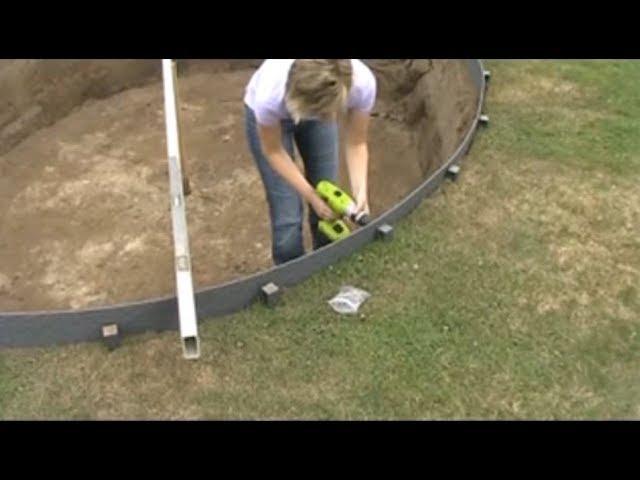 ECO-oh! Ecolat et Ecopic utilisation pour bordures pour étang et jardin