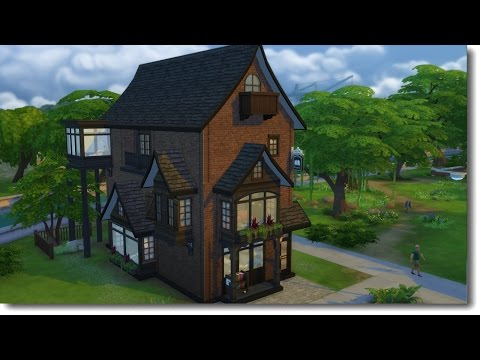 OLD INK BOOKSTORE   The Sims 4 Speed Build