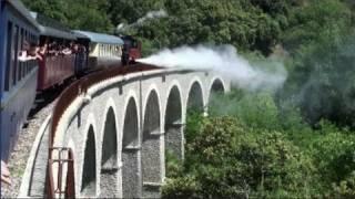 Le train à vapeur des Cévennes  (Saint-Jean-du-Gard/Anduze - Gard - France)