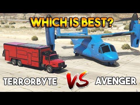 GTA 5 ONLINE : TERRORBYTE VS AVENGER (WHICH IS BEST?)