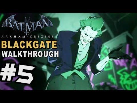 Batman Arkham Origins: Blackgate - Walkthrough Part 5 Joker's Prison Administration