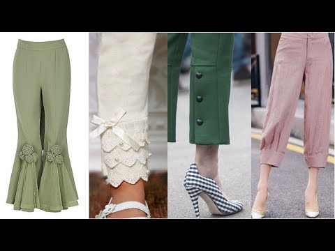 Very Very Latest & Stylish Designer Trousers Designs  Ideas/easy To Make At Home