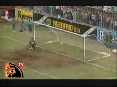 Gol del Diablo contretas Municipal Puntarenas en el Saprissa