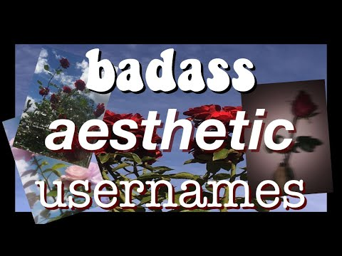 •-badass aesthetic usernames!-• from YouTube · Duration:  1 minutes 49 seconds