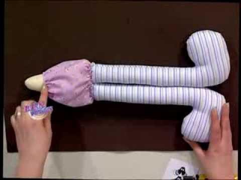 Silvia Nieruczkow  - Bienvenidas TV - Realiza una pepona en muñecos soft