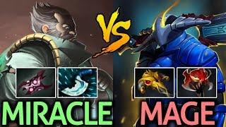 Miracle- Kunkka VS Mage Sven Dota 2 | Competitive Assassin Fight Pub Player