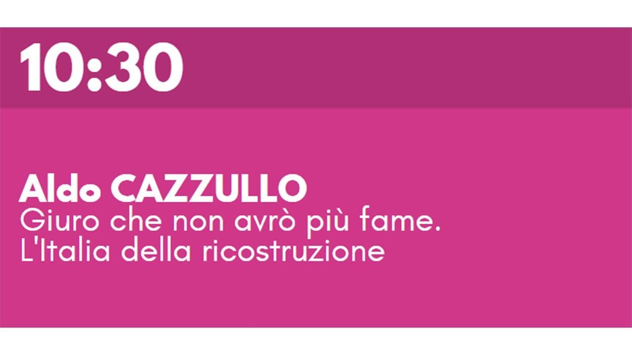 Aldo CAZZULLO - Giuro che non avrò più fame. L Italia della ricostruzione dae21873560