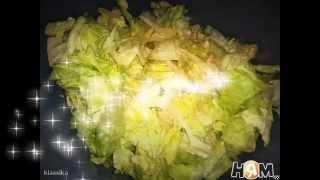 Салат из пекинской капусты  Пошаговый рецепт
