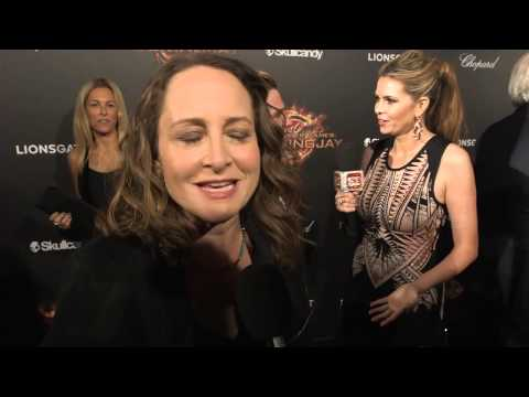 The Hunger Games  Mockingjay Part 1  Nina Jacobson Cannes Premiere Interview   YouTube 720p