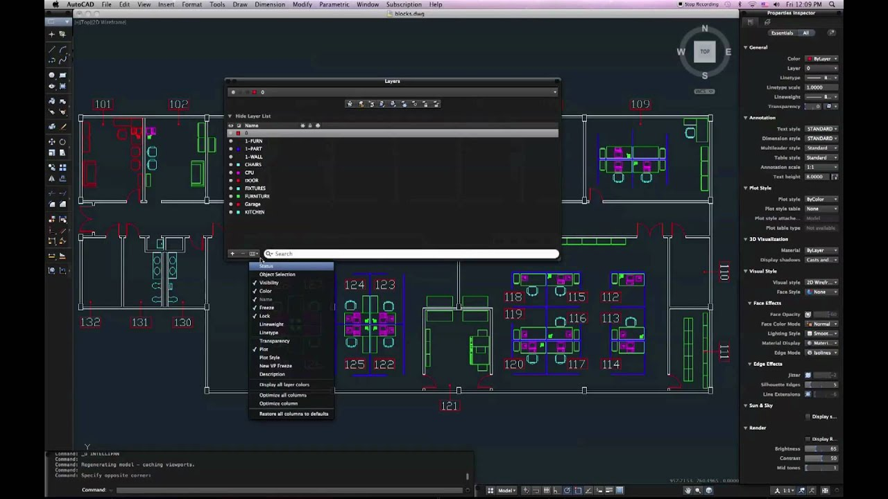 Autocad For Mac 2011 Layers And Interface Appearance