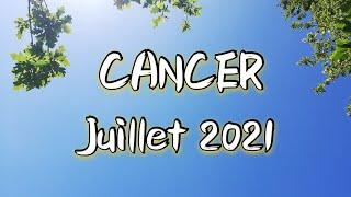 ♋ CANCER ♋ JUILLET 2021 ✨Un revirement de situation qui éclaircie votre horizon✨