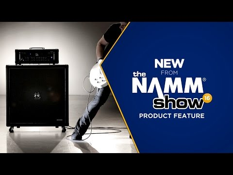 Live at NAMM 2016 - Boss WAZA Craft Amp Head with Companion Cab