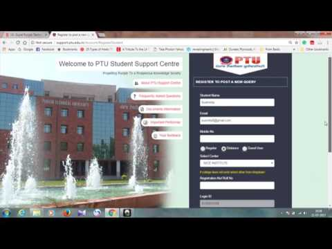How To Apply For MBA Degree Certificate from PTU?