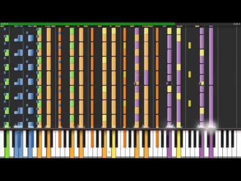 Nicki Minaj - Starships (Hardest songs on piano ever #1)