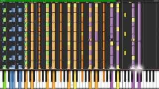 Repeat youtube video Nicki Minaj - Starships (Hardest songs on piano ever #1)