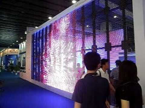 Lite Magic Transparent Led Screen Youtube